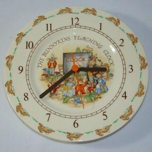 Other - Royal Doulton The Bunnykins Teaching Clock
